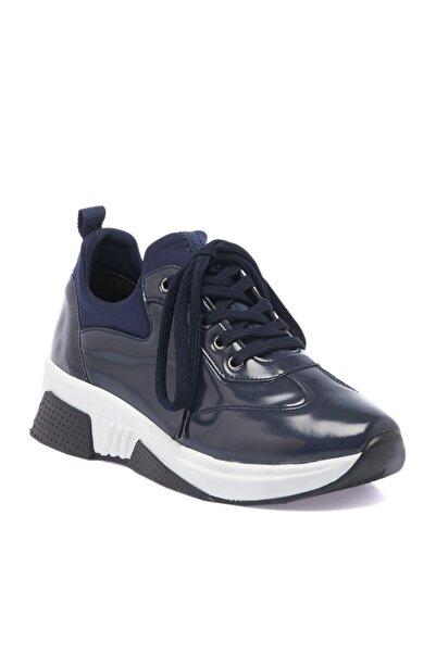 Tergan Lacivert Tekstil Kadın Ayakkabı 64046b20
