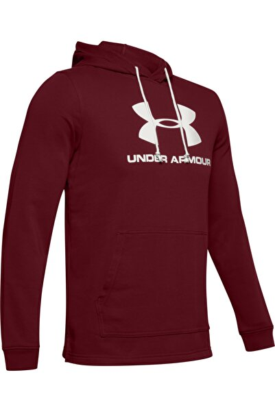 Under Armour Erkek Spor Sweatshirt - Sportstyle Terry Logo Hoodie - 1348520-615