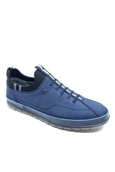 Fosco Kot Mavi Jel Taban Günlük Rahat Erkek Ayakkabı 721 2020 04