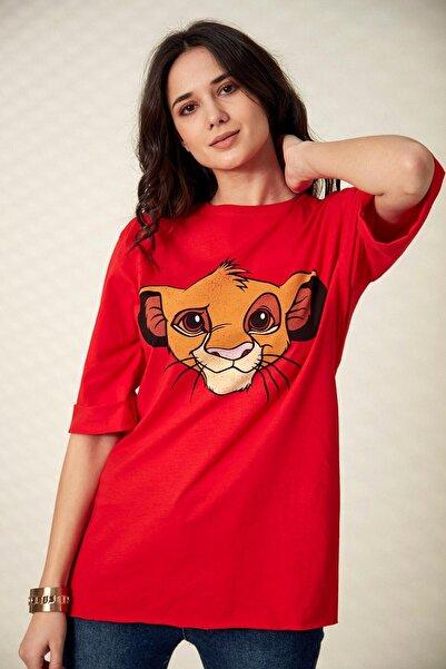 Morpile Boyfriend Baskılı T-shirt
