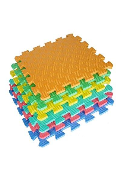 moniev Çocuk Oyun Yer Matı 6 Renk, Eva Yer Karosu,6'lı Demonte Ev Matı