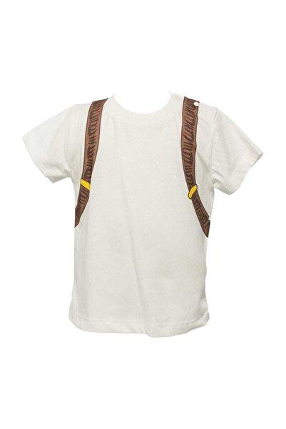 Zeyland Ekru Erkek Çocuk T-shirt