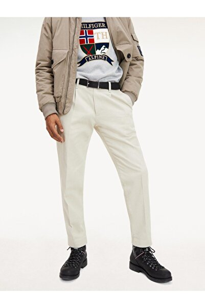Tommy Hilfiger Icon Tapered Pleat Chıno Cotton