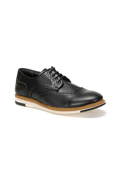 JJ-STILLER 51066 C 19 Siyah Erkek Klasik Ayakkabı