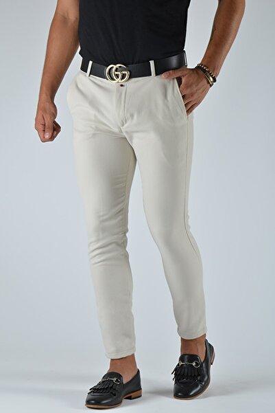 Terapi Men Erkek Slim Fit Keten Pantolon 20y-2200334 Bej