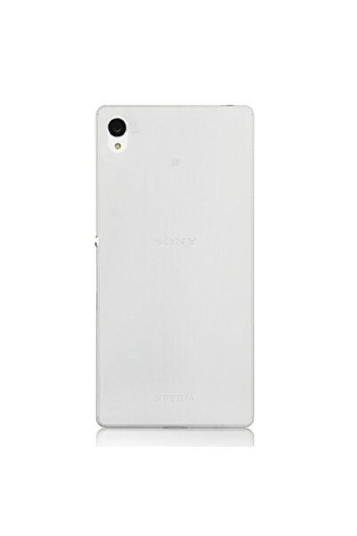 Sony Xperia Z4 Kılıf Soft Silikon Şeffaf Arka Kapak