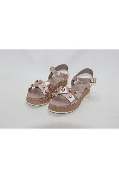 İnci Bayan Pembe 40 Numara Hakiki Deri Sandalet