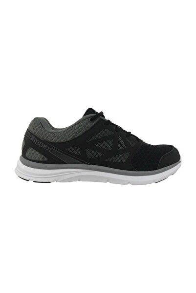 Kappa Erkek Siyah Sneaker Ayakkabı