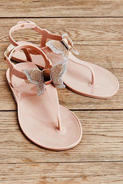 Bambi Pudra Kadın Sandalet L0500001399