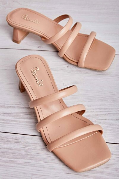 Bambi Bej Kadın Sandalet L0533001509