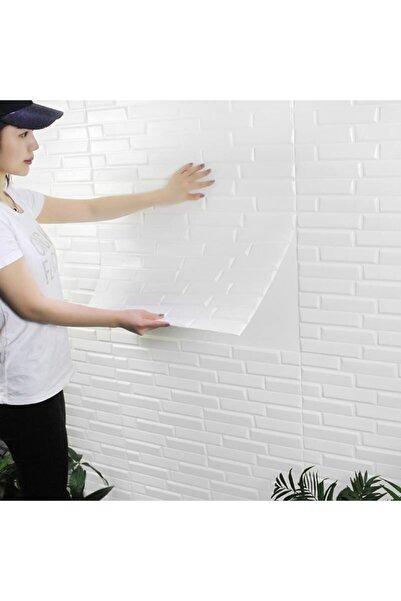 Renkli Duvarlar Yapışkanlı Duvar Paneli 8,5 Mm 77x70 Cm Opak 3d Duvar Kağıdı