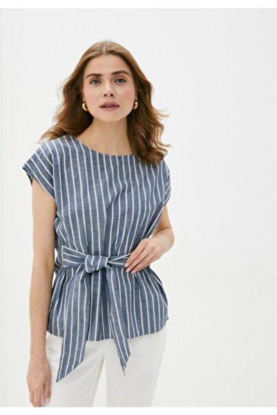 Vero Moda Fiyonk Detaylı Çizgili Bluz 10211700 Vmmıley