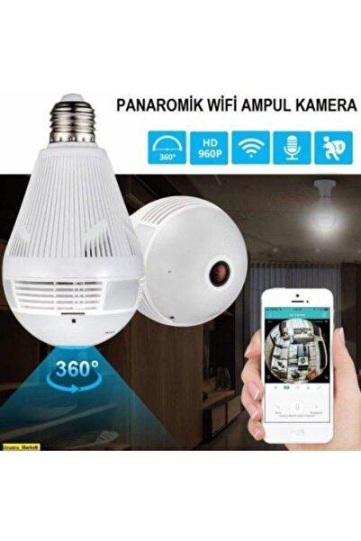 Angel Eye Panoramik 360° 1080p Wifi Ampul Şeklinde Güvenlik Kamerası