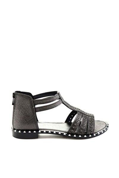 Bambi Platin Kadın Sandalet H0654030710