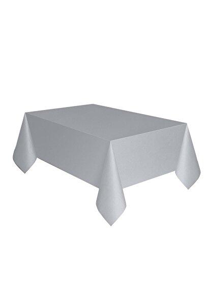 Aşkın Parti Evi Gümüş Masa Örtüsü
