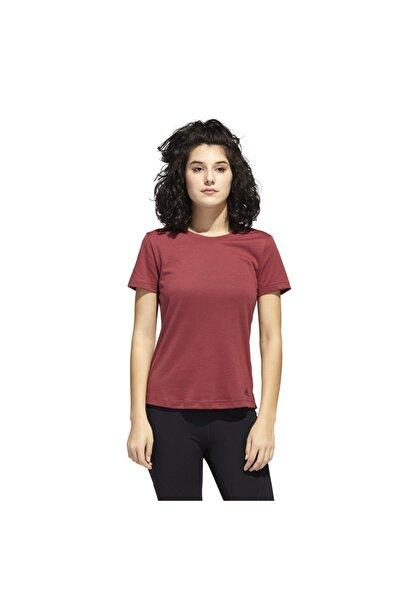 adidas Prime Tee Kadın Kırmızı Antrenman Tişört Gc7741