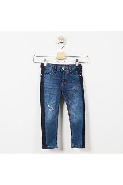 Panço Kız Çocuk Denim Pantolon 19221021100