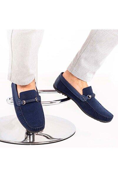 Milano Brava Ortopedik Loafer Erkek Ayakkabı Mln1102 Süet Lacivert