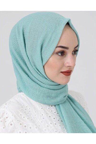perryscarf Kadın  Su Yeşili Bürümcük Tesettür Şal