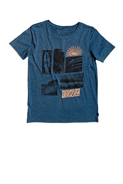 Quiksilver Çocuk Mavi Like Waters Tişörtü Eqbzt04151-bsmh
