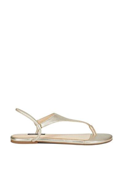 Nine West Braydın Altın Kadın Sandalet