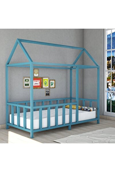 ortaahşap Orta Ahşap Montessori Çocuk Yatak