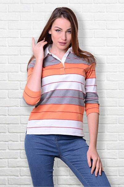 Walbusch Kadın Polo Yaka T-shirt Pima Koton