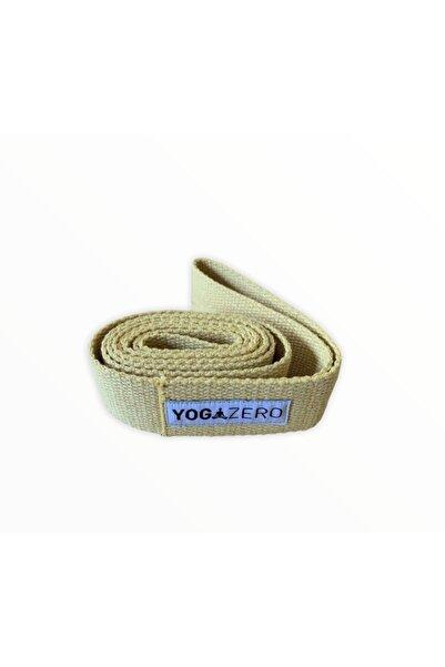 Yoga Zero Yogazero Çift Halkalı Yoga Kemeri / Tokasız- Hardal Rengi