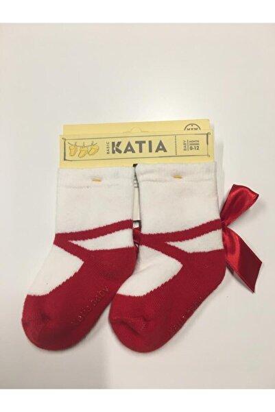 Katia&Bony Cindyrella Bebek Çorap - Kırmızı