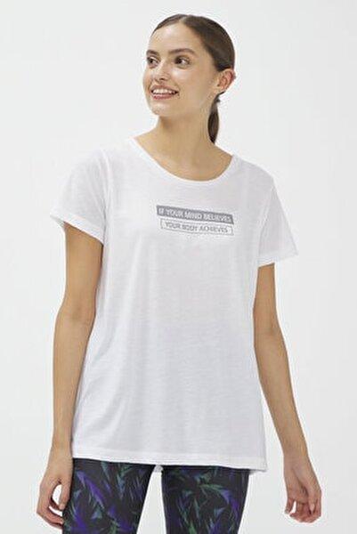 Beyaz Reflected Tişört
