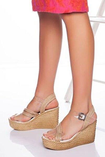 -dolgu Topuklu Ayakkabı-şeffaf