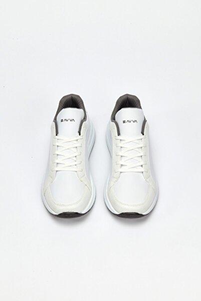 Avva Erkek Beyaz Spor Ayakkabı A02y8026
