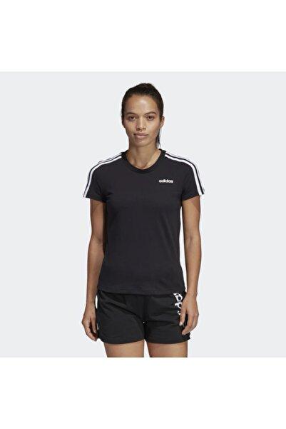 adidas W E 3S SLIM TEE Siyah Kadın T-Shirt 100411848