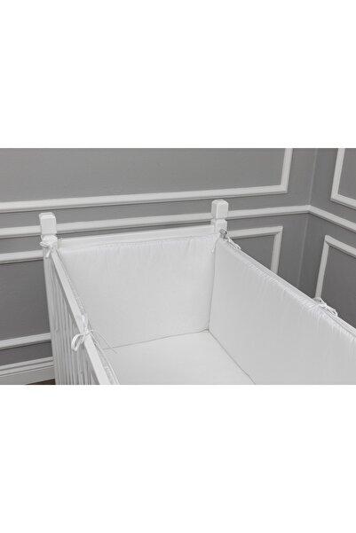 MAYA BABY Basic Yan Koruma Seti 4 Parça 60x120 Beyaz