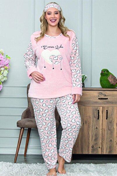 Moday Peluş Polar Kışlık Pijama Takımı 32c-1466