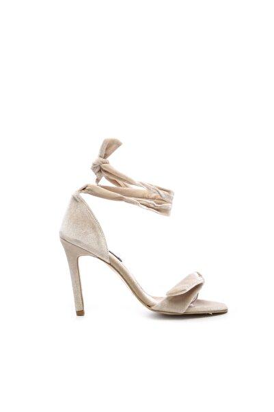 KEMAL TANCA Kadın Kumas Topuklu Ayakkabı 26 28170 Bn Ayk