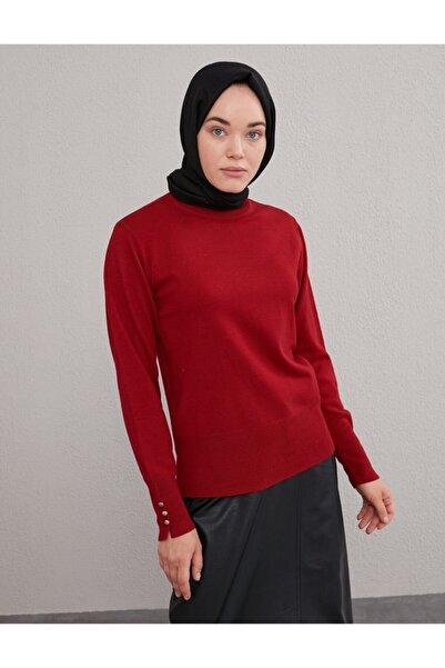 Kayra Basic Triko Bluz Kırmızı Sz Trk05