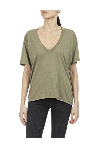 Replay Kadın Yeşil T-shirt