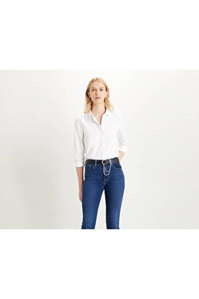 Levi's Kadın Beyaz Regular Fit Gömlek 34574-0000