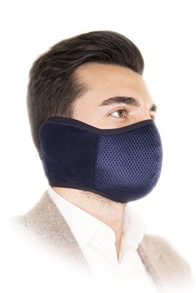 HOTMASK Yıkanabilir Kış Maskesi Lacivert Renk Erkek Modeli