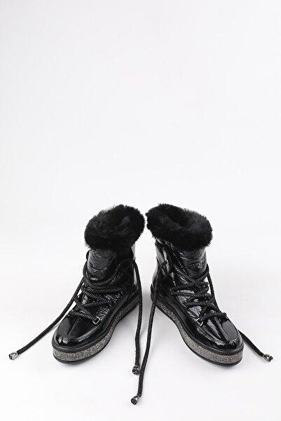 Buffalo Kadın Laurene Siyah Bot
