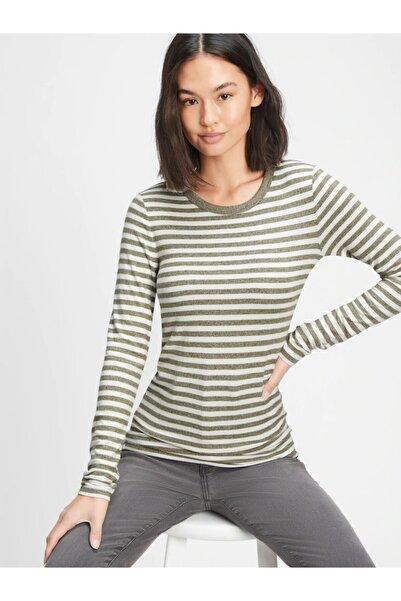 GAP Cozy Uzun Kollu T-shirt