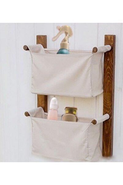 Vip Home Concept Sepet Organizer Banyo Çok Amaçlı Raf Düzenleyici 2 Katlı