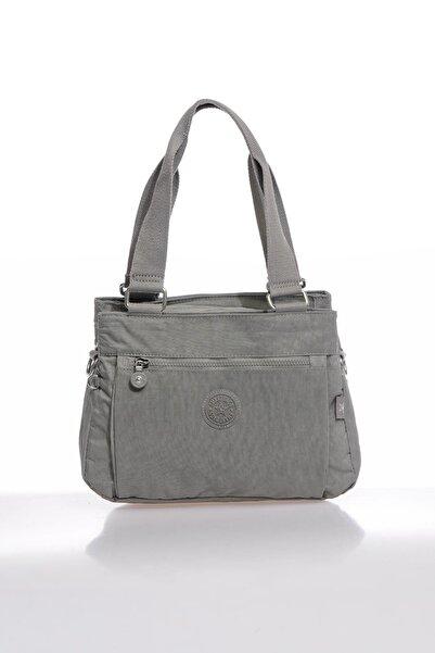 SMART BAGS Smbky1125-0078 Gri Kadın Omuz Çantası