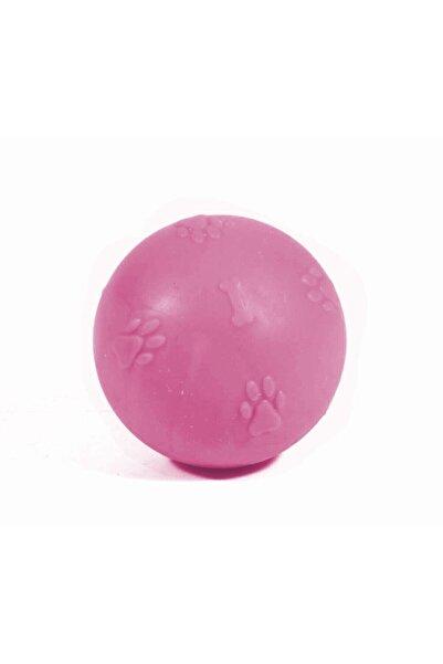 CCA Termoplastik Kokulu Pati Desenli Sert Köpek Oyun Topu 1 Numara