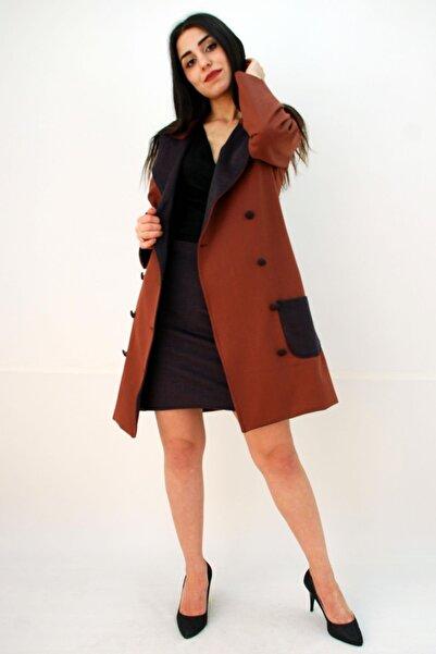 Elifim Moda Kruvaze Ceket Etek Takım