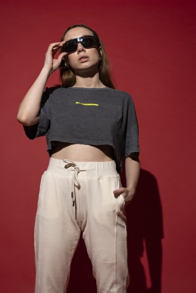HOLEACADEMIE Crop Tshirt