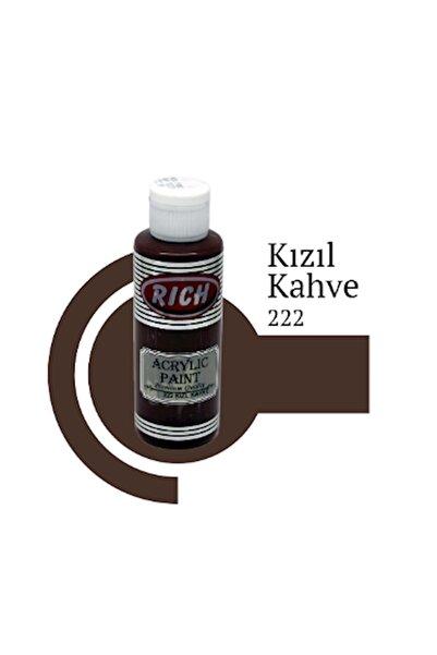Rich Akrilik Boya 120 Cc Kızıl Kahve