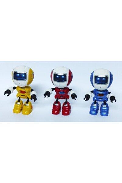 Brother Toys Işıklı Konuşan Metal(demir) Robot Konuşmanızı Taklit Eder (1 Adet)