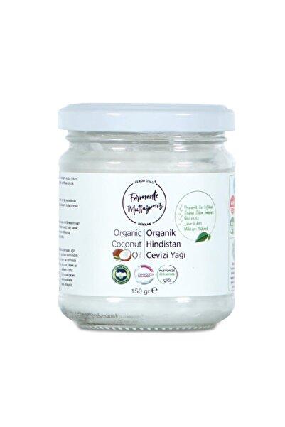 Fermente Mutfağım Organik Soğuk Sıkım Hindistan Cevizi Yağı 150 gr